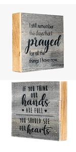wooden inspirational signs wooden box quotes box signs for home decor mini inspirational signs