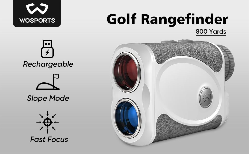 Rechargeable Golf Rangefinder