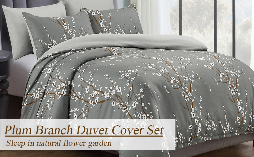grey duvet cover set