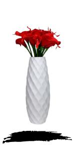 tall diamond vase