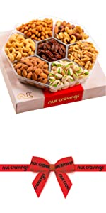 Red Gift box nuts