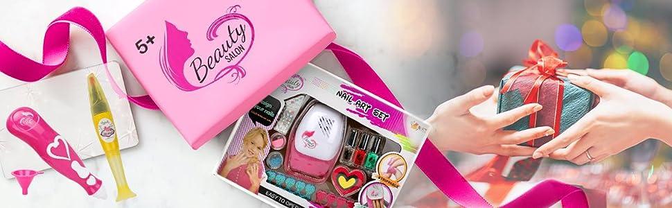 Nail art set for girls