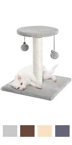 Cat Scratching Post, Cat Scratcher Sisal Cat Post for Indoor Cats