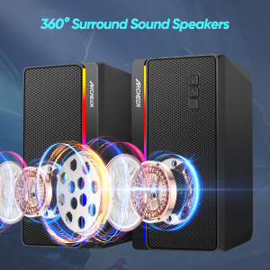This 2.0 speakers are surround sound speakers