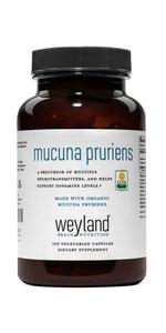 Made with Organic Mucuna Pruriens