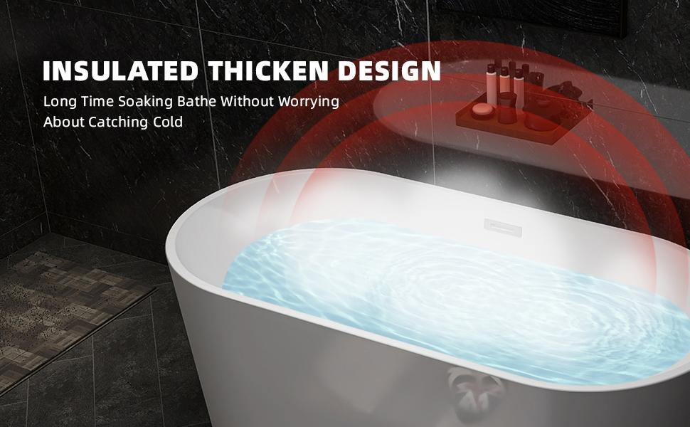 two person freestanding bathtub