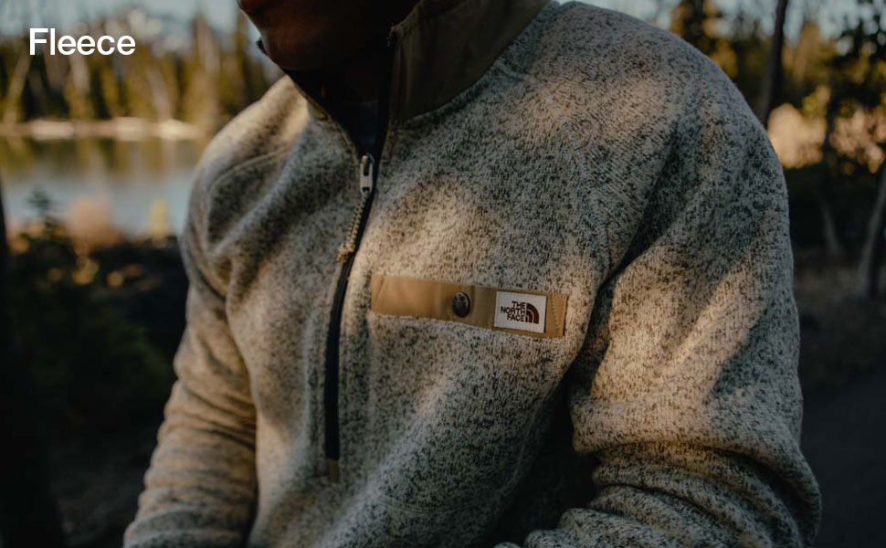 Stay warm with durable and comfortable fleece for men and women.