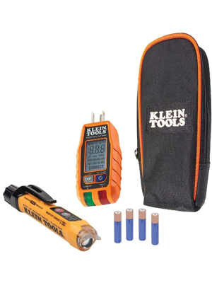 Non-Contact Voltage Tester and GFCI Receptacle Tester