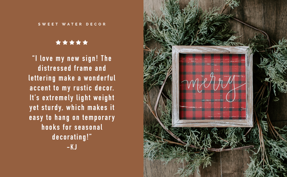 sweet water decor home rustic farmhouse wood signs wall art f. scott fitzgerald scripture quotes