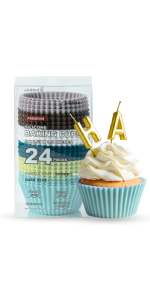 Small fresh silicone cake cup