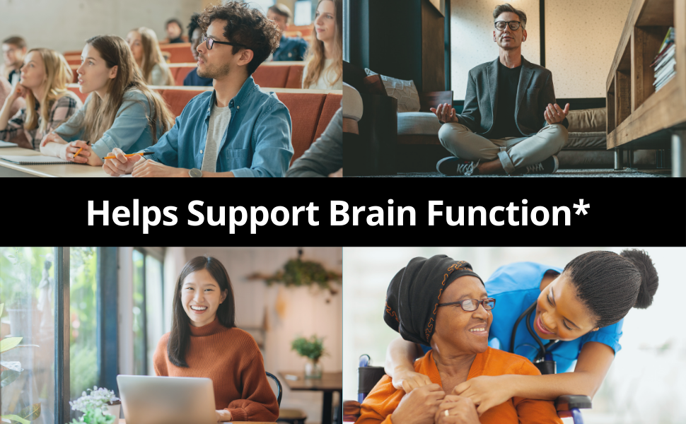 Helps support brain function