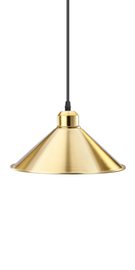 Conical Hanging Lights