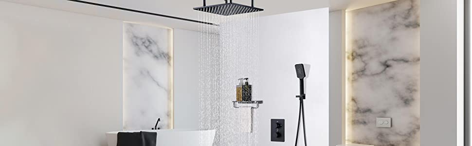 JiaYouJia 20'' Rain Shower System
