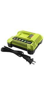 for Ryobi OP401 40V Charger Ryobi 40V Li-ion Battery charger OP4015 OP4026 OP4026A battery charger