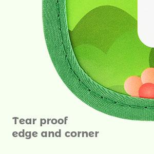 tear proof edge and corner
