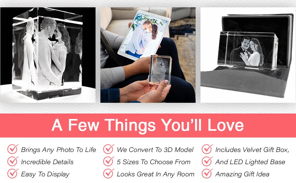 You will love the life-like detail we provide. You also get a LED Base and Premium Giftbox