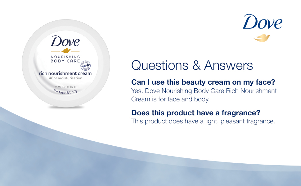 Dove Nourishing Body Care Rich Nourishment Cream