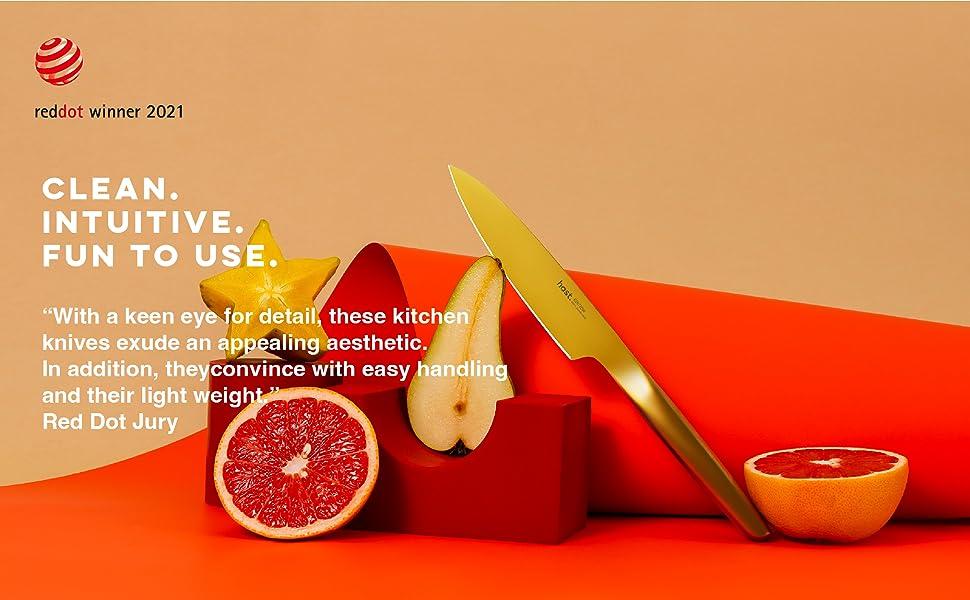 Hast high performance design knife-utility knife-gold knife