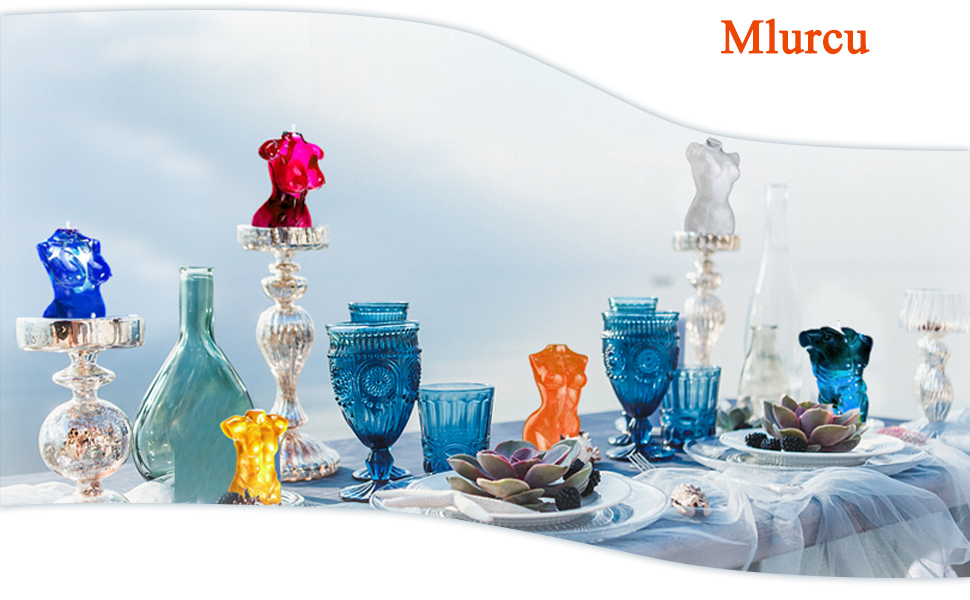 candle molds silicone