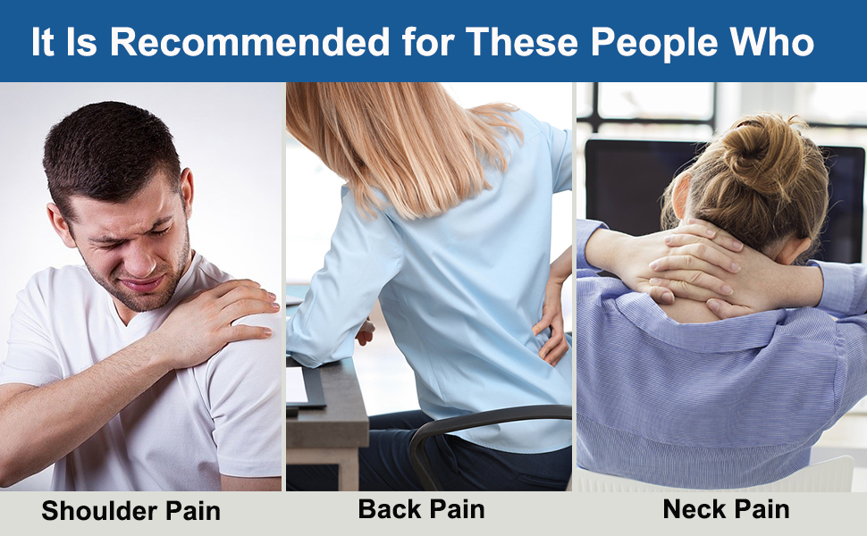 relieve pain in the shoulder ,neck and back