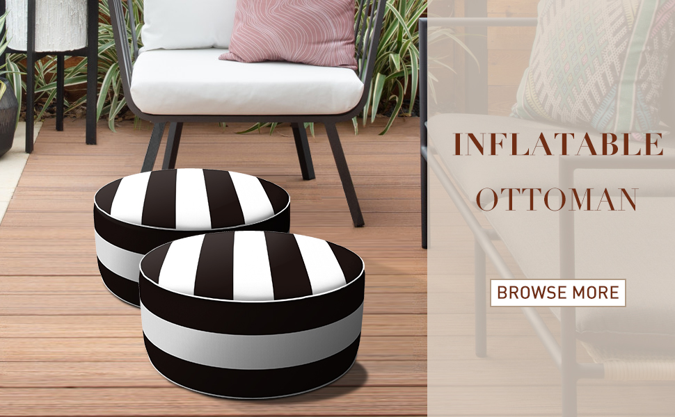 inflatable ottoman