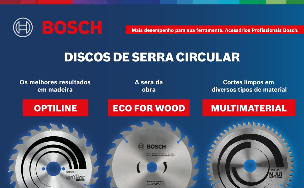 Disco de Serra Circular Bosch