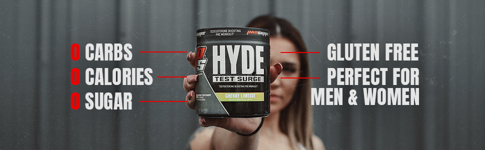 Amazon.com: ProSupps Mr. Hyde Test Surge Pre Workout for Men and Women -  High Stim Pre Workout Powder Drink with Testosterone Support Matrix for  Enhanced Drive, Power and Focus (Sour Watermelon, 30