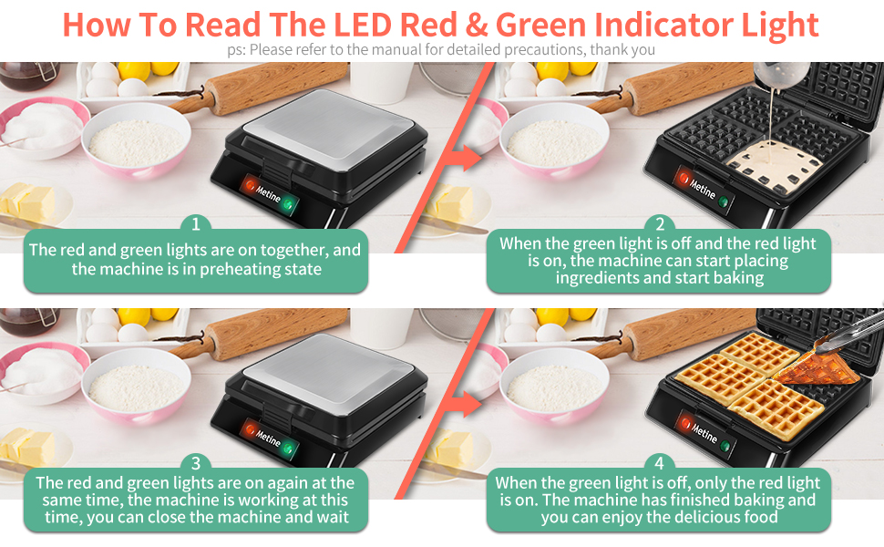 how to read the led
