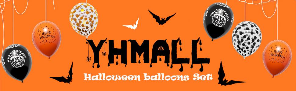 YHmall Halloween ballonnen decoratie kit