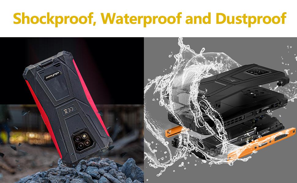 Shockproof, waterproof and dustproof