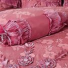 pink pearl floral comforter