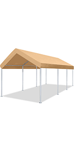 carport canopy 12x20 heavy duty portable garage car tent rv shed outdoor storage shelter