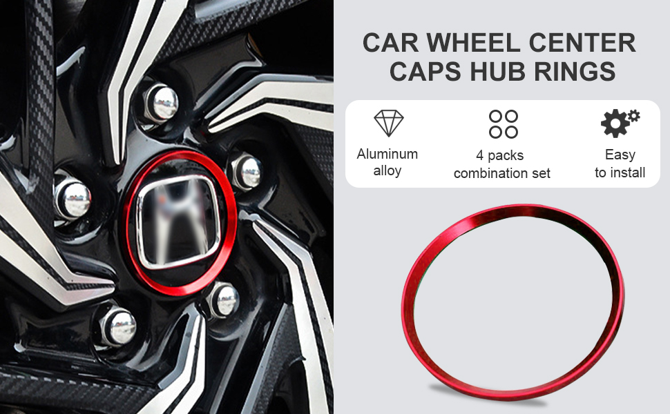 Car Wheel Center Caps Hub Rings