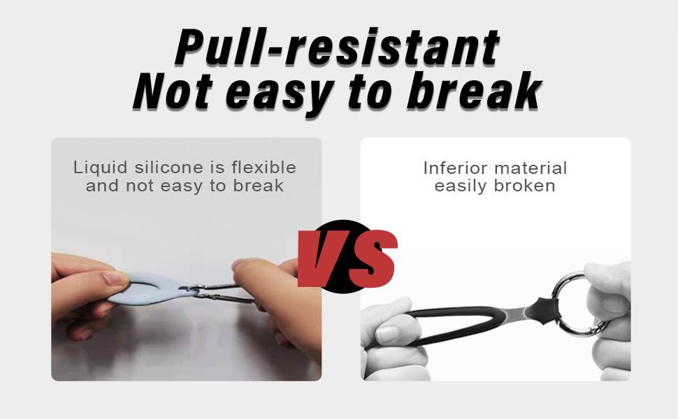 Pull-resistant Not easy to break