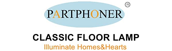partphoner floor lamp
