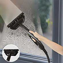 steam mop window cleaning