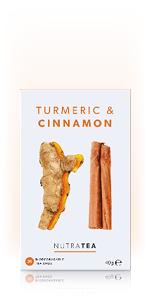 Nutra Tea Turmeric amp;amp; Cinnamon Tea Herbal