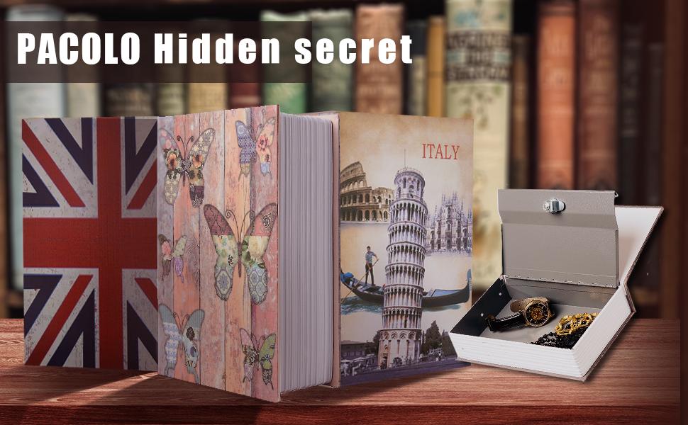 Secrect hidden safe