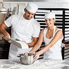 chef hat and apron for adults