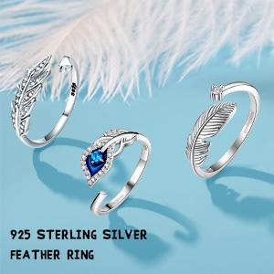 feather rings