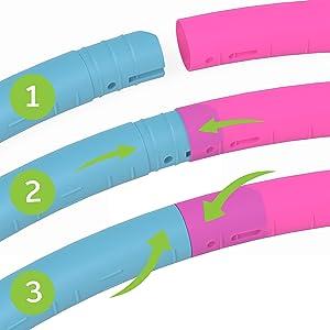 ,hoola hoop for toddler,adjustable hula hoop,hula hoop for kids small