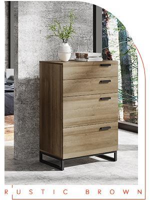 4 Drawer Narrow Dresser