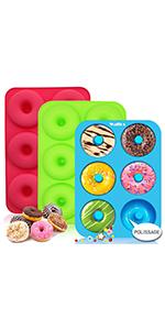 Moules à Donuts en Silicone