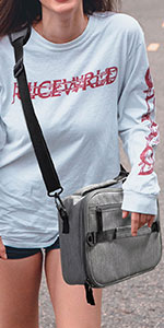 Double Handles Thermal Lunch Bag
