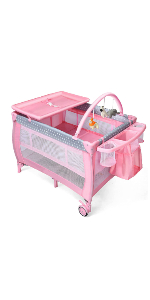 pack and play with bassinet