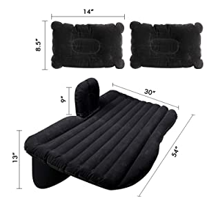 with sleeping pillow big size traveling trawelling travel trawel air pump acessesories adult people