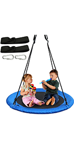40 inches Tree Swing Blue, 1 Pack