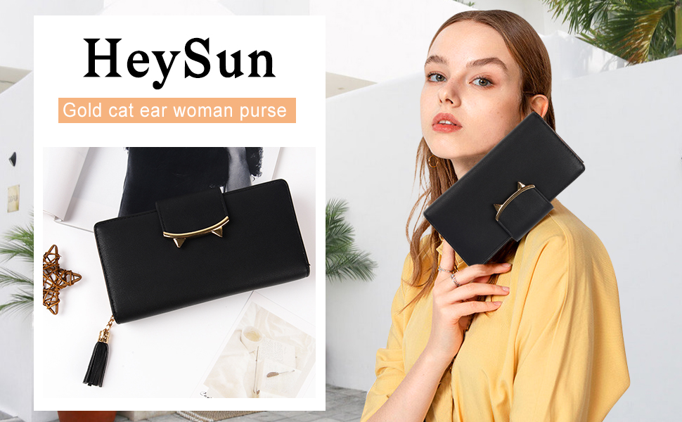 black wallet for women