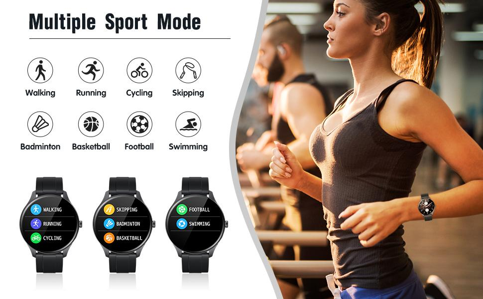 TS15 Multi-sport modes Android Smartwatch
