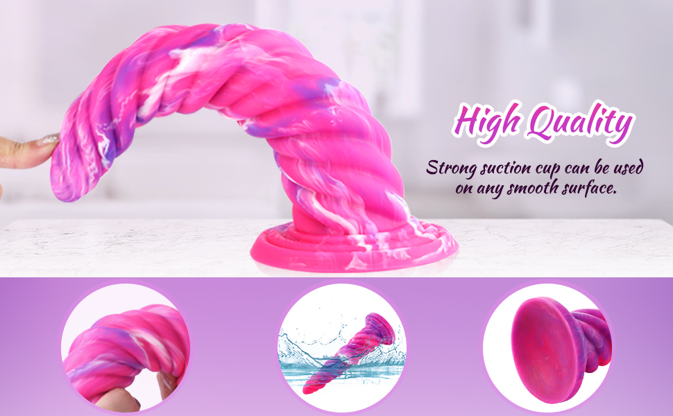 High quality, srong suction cup can be used on any smooth surface
